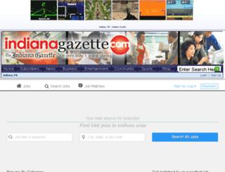 jobs.indianagazette.com screenshot