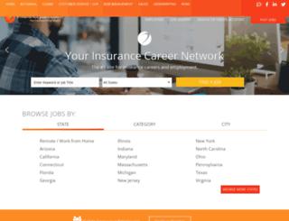 jobs.insurancejobs.com screenshot