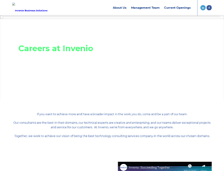 jobs.invenio-solutions.com screenshot