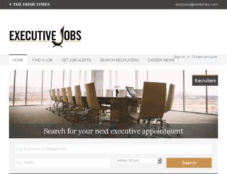 jobs.irishtimes.com screenshot