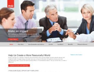 jobs.itron.com screenshot