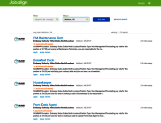 jobs.jobaline.com screenshot