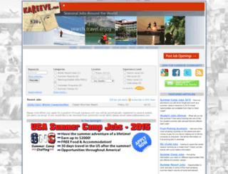 jobs.kareeve.com screenshot