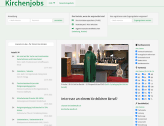 jobs.kath.ch screenshot