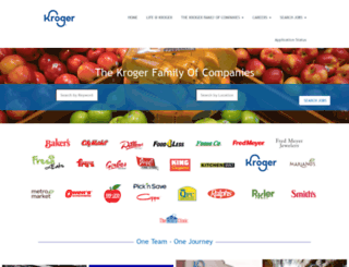jobs.kroger.com screenshot