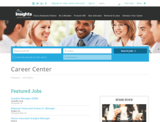 jobs.marketingresearch.org screenshot
