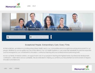 jobs.memorialcare.org screenshot
