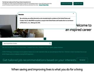 jobs.merck.com screenshot