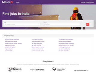 jobs.mitula.in screenshot