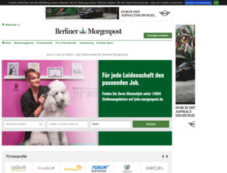 jobs.morgenpost.de screenshot