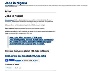 jobs.nigeriang.com screenshot