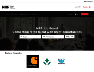 jobs.nrf.com screenshot