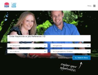 jobs.nsw.gov.au screenshot
