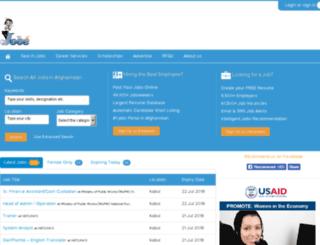jobs.org.af screenshot