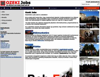jobs.ozeki.hu screenshot