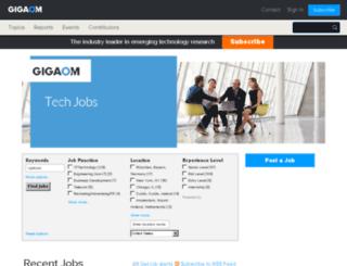 jobs.paidcontent.org screenshot