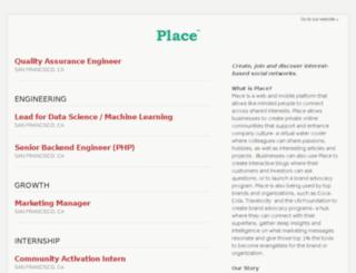 jobs.place.xyz screenshot