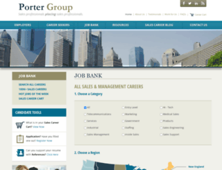 jobs.portergroup.com screenshot