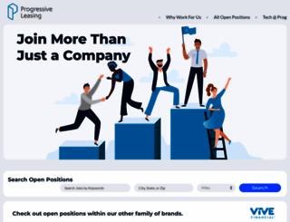 jobs.progleasing.com screenshot
