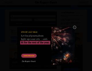 jobs.registerguard.com screenshot