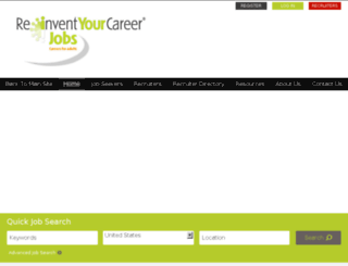 jobs.reinventyourcareer.com.au screenshot