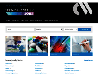 jobs.rsc.org screenshot