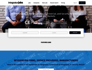 jobs.securitysales.com screenshot