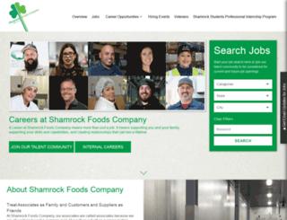 jobs.shamrockfoods.com screenshot