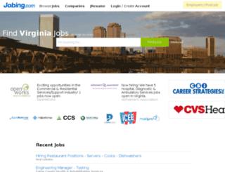 jobs.shc.org screenshot