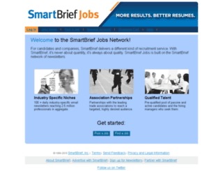 jobs.smartbrief.com screenshot