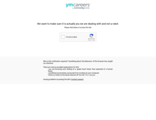 jobs.sname.org screenshot