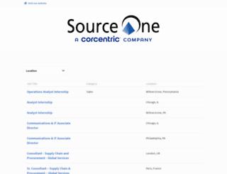 jobs.sourceoneinc.com screenshot