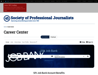 jobs.spj.org screenshot