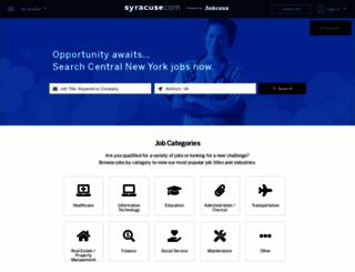 jobs.syracuse.com screenshot