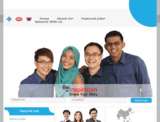 jobs.tanchonggroup.com screenshot