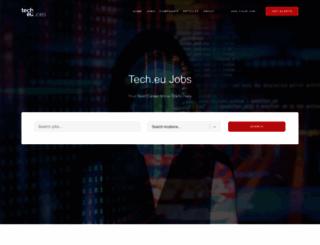 jobs.tech.eu screenshot