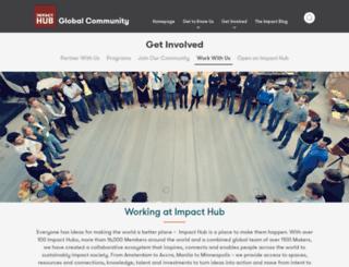 jobs.the-hub.net screenshot