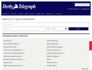 jobs.thisisderbyshire.co.uk screenshot