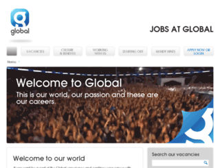 jobs.thisisglobal.com screenshot