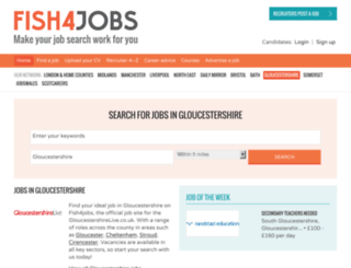 jobs.thisisgloucestershire.co.uk screenshot