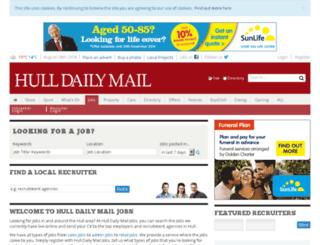 jobs.thisishull.co.uk screenshot