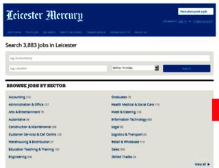 jobs.thisisleicestershire.co.uk screenshot
