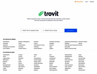 jobs.trovit.co.uk screenshot