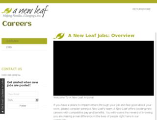 jobs.turnanewleaf.org screenshot