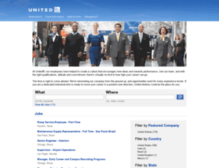 jobs.united.com screenshot