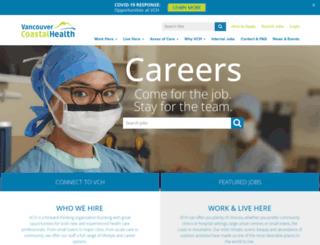 jobs.vch.ca screenshot