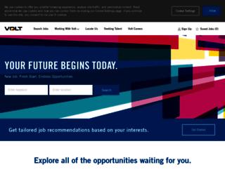 jobs.volt.com screenshot