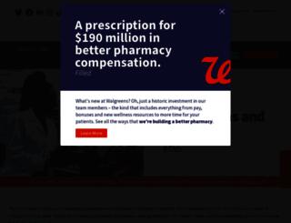 jobs.walgreens.com screenshot