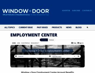 jobs.windowanddoor.com screenshot