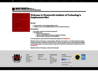 jobs.wit.edu screenshot